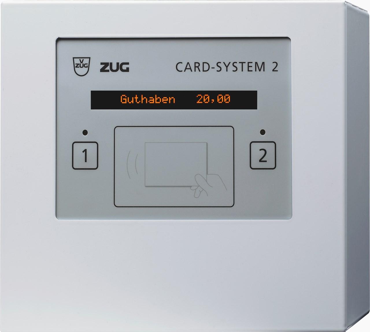 v zug card system 2 f r betrieb von 2 ger ten silver tech. Black Bedroom Furniture Sets. Home Design Ideas