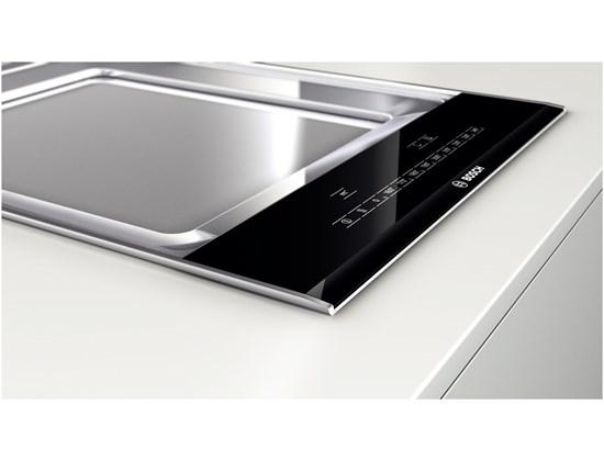 bosch vario domino teppan yaki 40 cm pky475n14e silver tech gmbh qualit t f r haushaltsger te. Black Bedroom Furniture Sets. Home Design Ideas