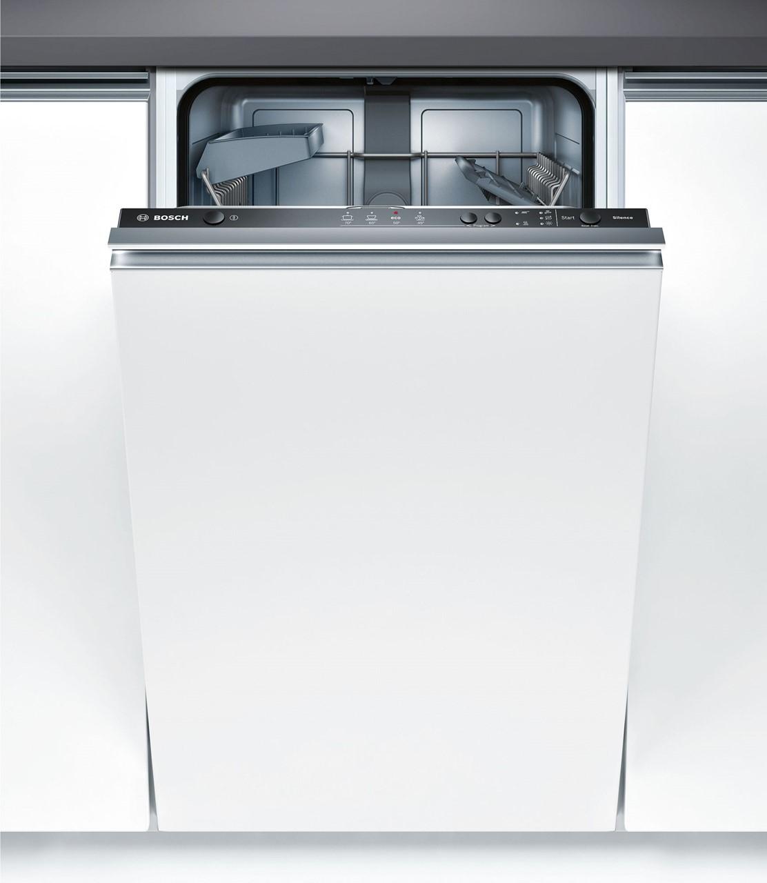 Bosch Vollintegrierter Geschirrspuler 45cm Spv40e40eu Silver Tech