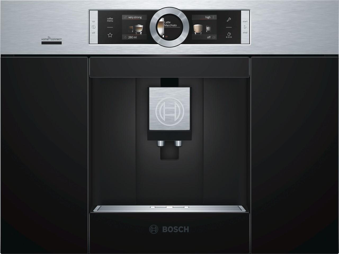 Bosch Kühlschrank Home Connect : Bosch einbau espresso kaffeevollautomat edelstahl ctl636es6 silver