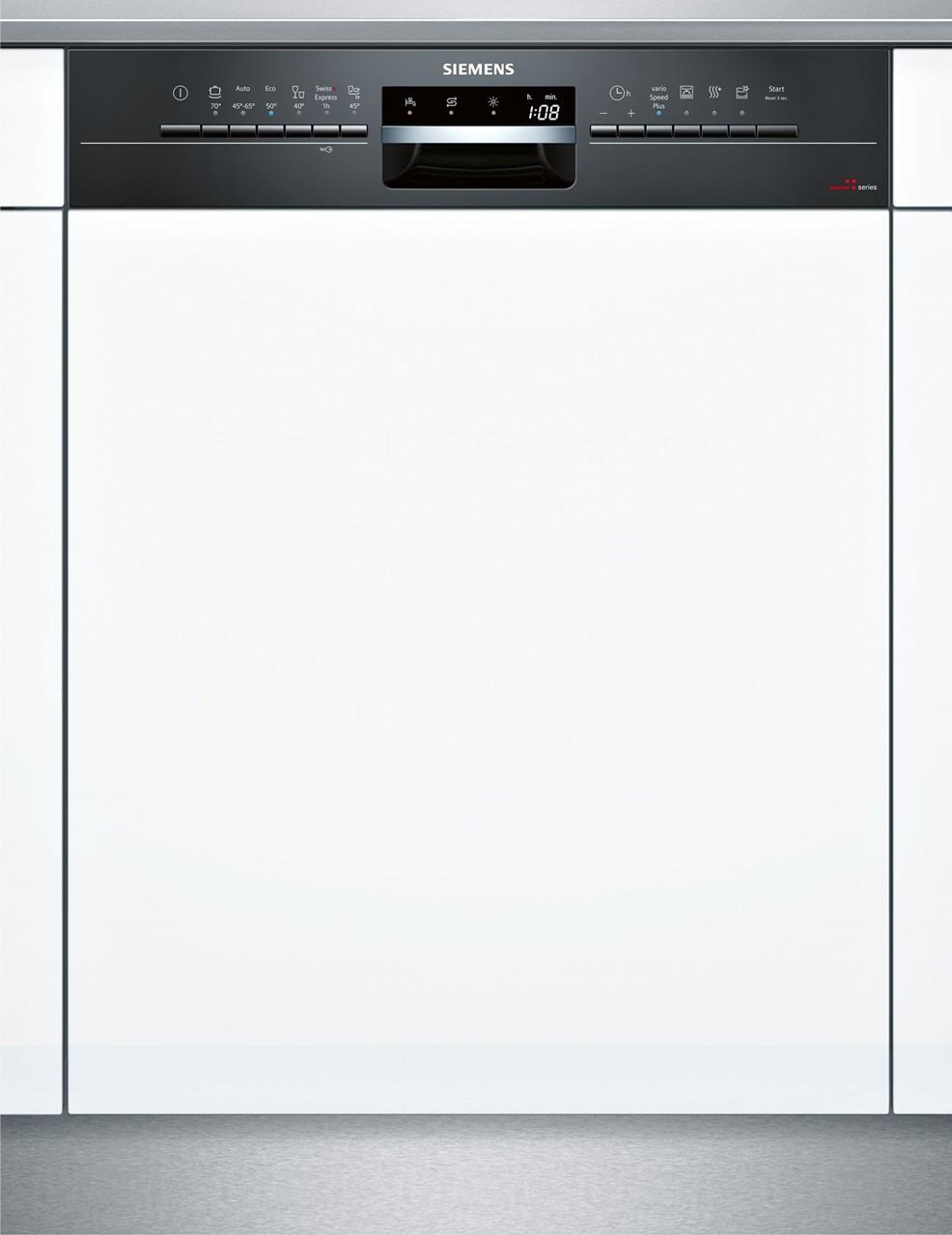 Bild Von Siemens Integrierbarer Geschirrspüler 60 Cm Schwarz SX536B00IH