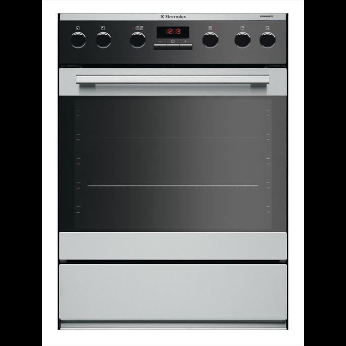 Electrolux Ehgl3xdcn Einbauherd 4 Kochzonen 55 Cm 7 Ofen Und 1