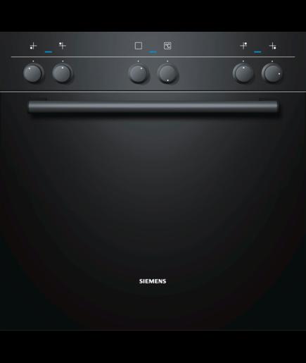 Siemens Einbauherd Schwarz He10ab621c Silver Tech Gmbh Qualitat Fur